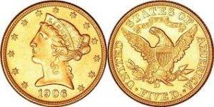 Gold $10 Liberty