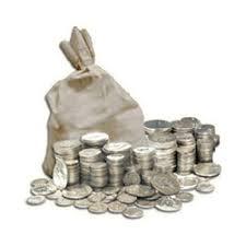 $500 Face Junk Silver Quarters