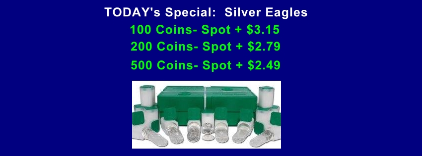 US Silver Eagle Sale!