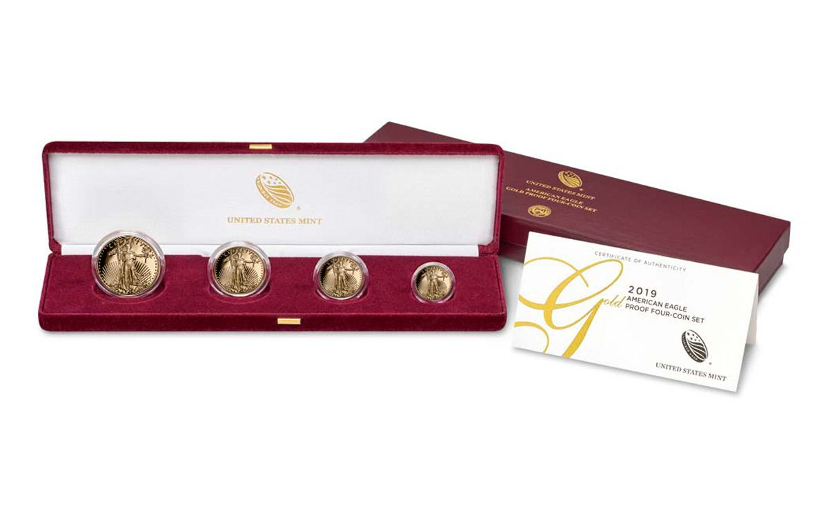2020 US Mint American Gold Eagle Proof Set