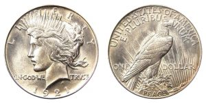 Buy or Sell Utah Peace Silver Dollars