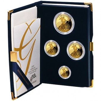US Mint Gold American Eagle Proof Set