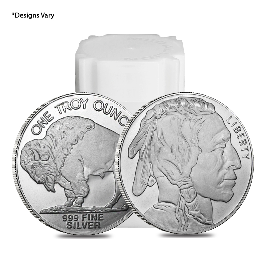 Silver .999 Pure Rounds- 1 Oz